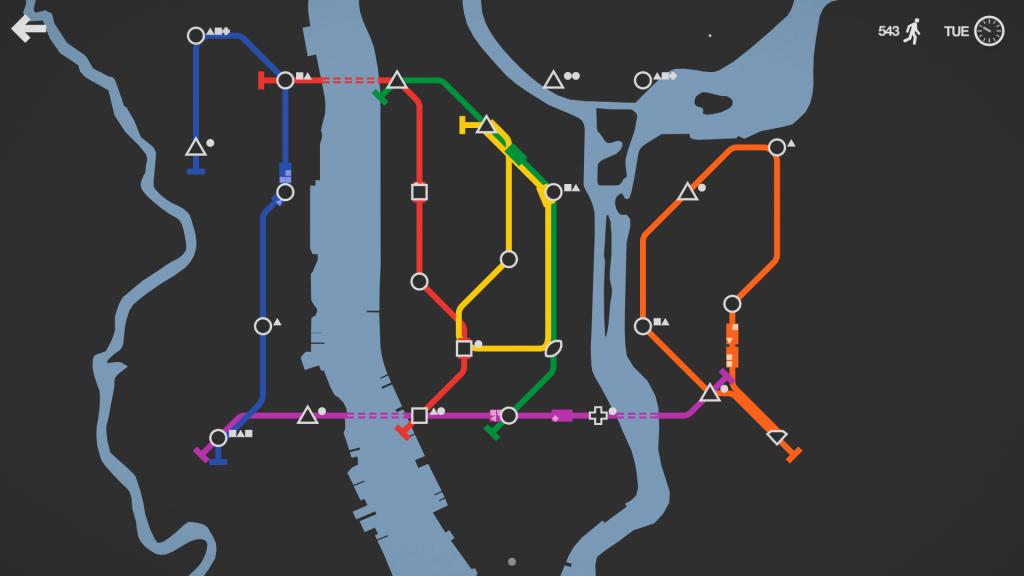 Mini Metro - GameBy.pl