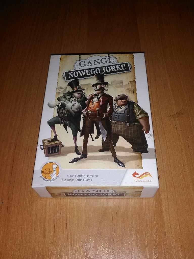 Gangi Nowego Jorku - gra planszowa - recenzja GameBy.pl