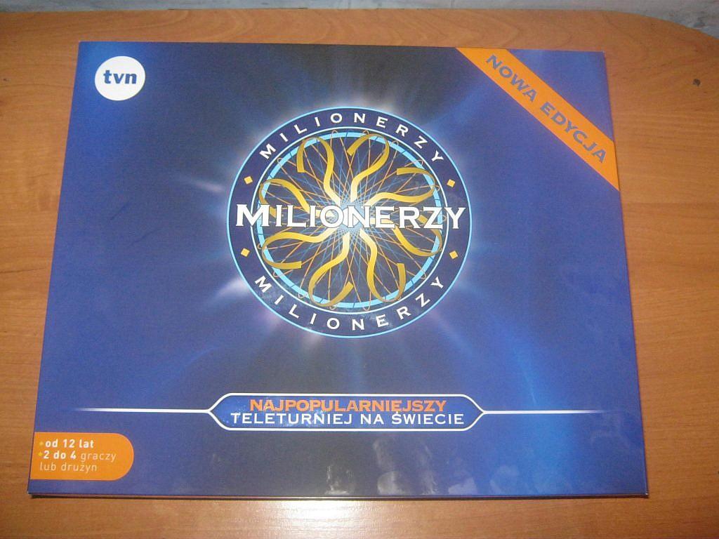 Milionerzy - gra planszowa - recenzja od GameBy.pl
