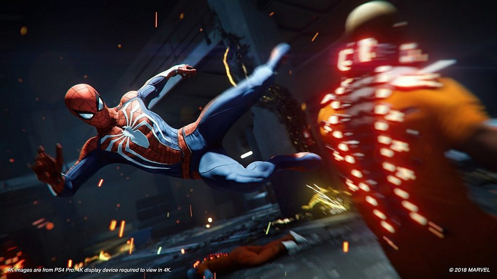 Marvel's Spiderman - Gameby.pl