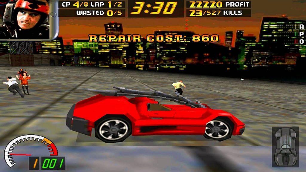 samochody w grach komputerowych