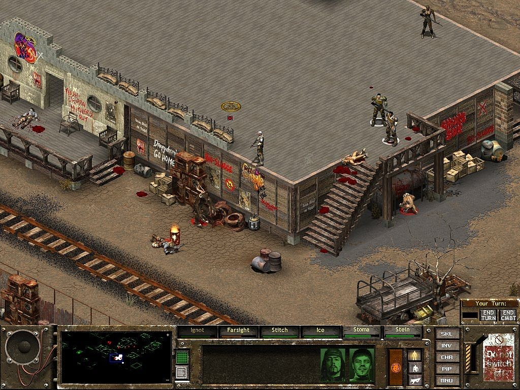 Fallout Tactis Brotherhood of Steel - GameBy.pl