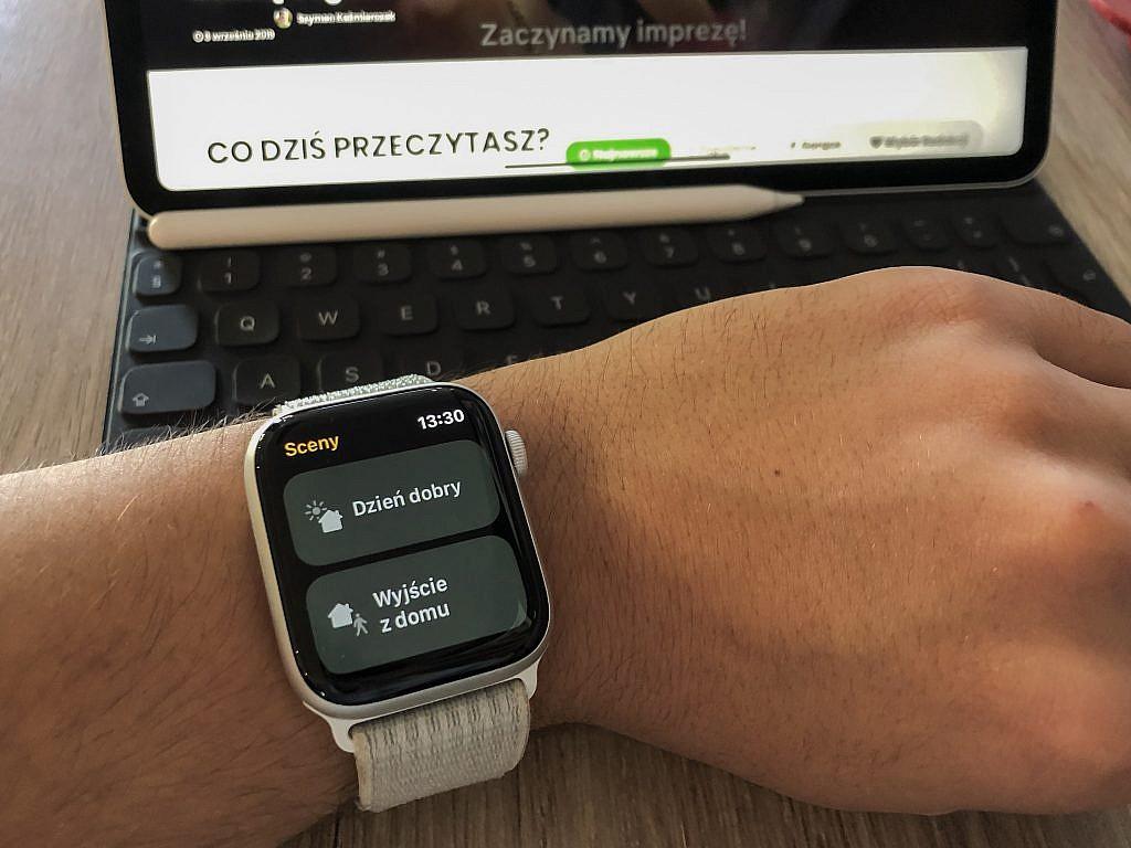 Smart home z HomeKit i Siri - Apple Watch - GameBy.pl